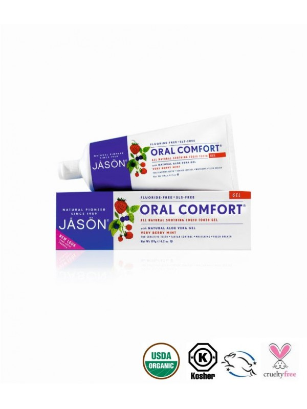Oral Comfort 174 Soothing Toothpaste Fluoride Free Gel
